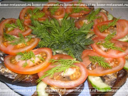 бутерброды праздничные рецепты с фотографиями