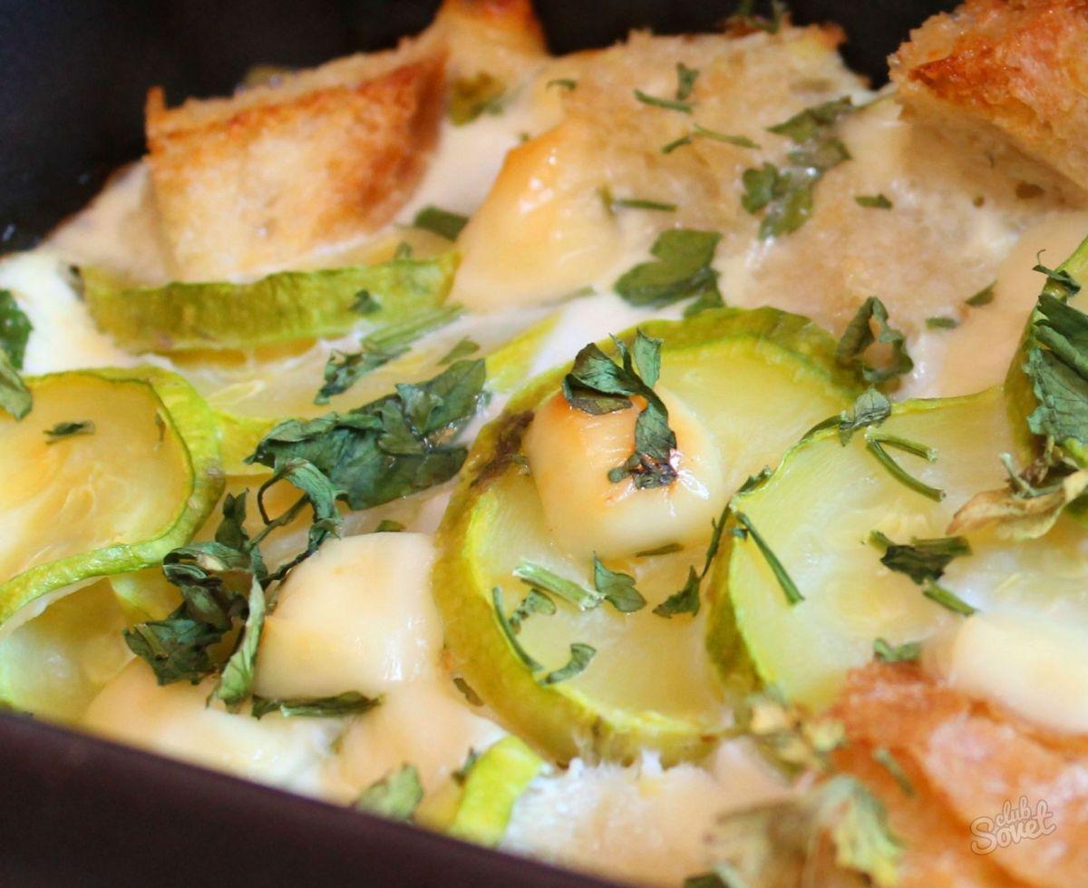 Фото рецепт запеканка из кабачка для детей