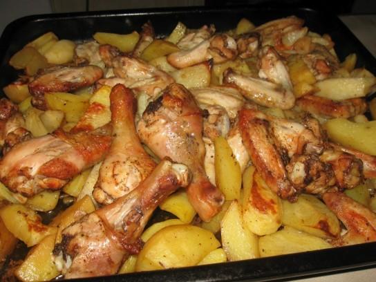 Lezzetli tavuk uylukları pişiririz