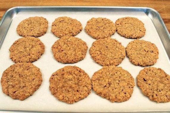 Plätzchenrezept Stillen. Haferflocken Cookies mit dem Stillen.