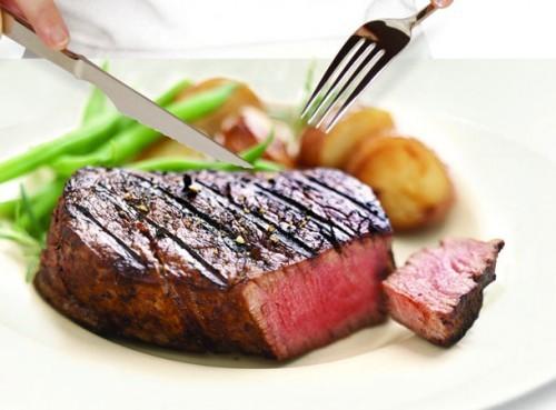 бифштекс из говядины рубленый