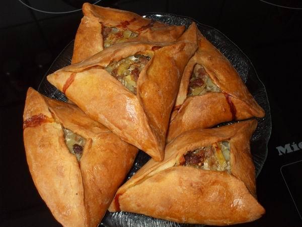 Татарский пирожки с мясом и картошкой рецепт 81