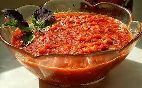 заготовки из помидор на зиму соусы